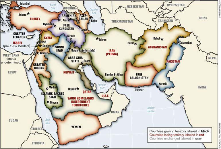 """""""творческое разрушение"""" для Большого Ближнего Востока - Одесский Политикум"""