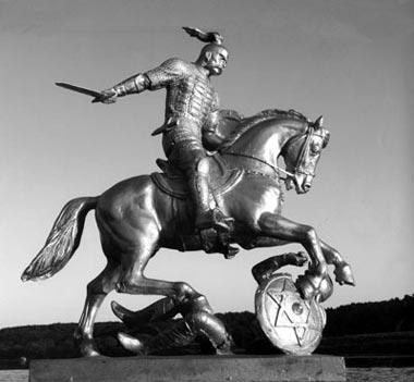 Победа над Хазарией - памятник князю Святославу- Одесский Политикум