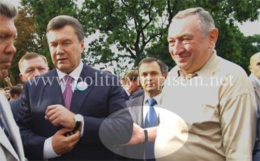 Сергей Кивалов, Виктор Янукович, Эдуард Гурвиц на стрелке в Одессе - Одесский Политикум