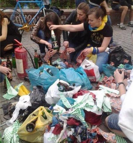 """""""Выкрикивание антиукраинских лозунгов, георгиевские ленточки и раздача листовок"""", - полиция задержала 14 человек в Одессе - Цензор.НЕТ 4275"""