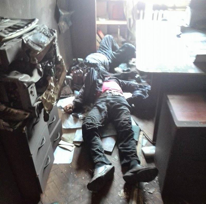 Одесса. Дом профсоюзов. Убитые выстрелами в голову - Одесский Политикум