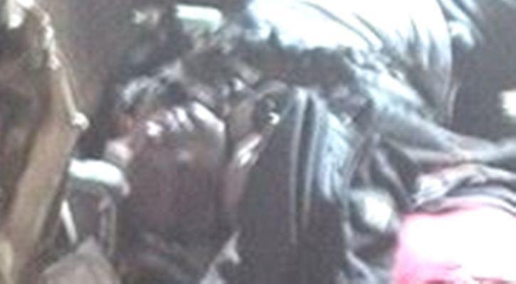 Одесса. Дом профсоюзов. Увеличенное фото - убитые выстрелами в голову - Одесский Политикум