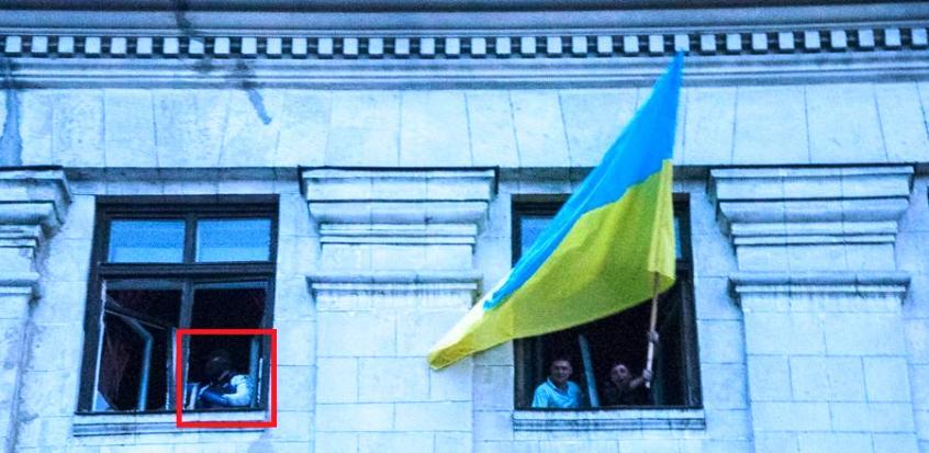 Одесса. Дом профсоюзов. Убийца женщины - Одесский Политикум